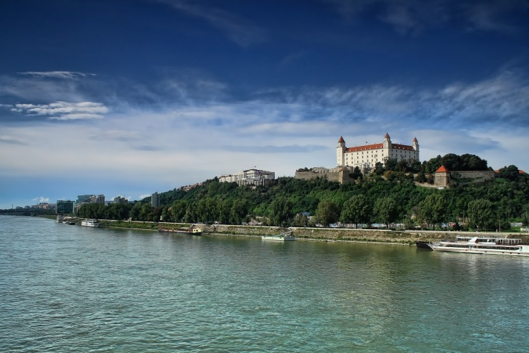 Nature view of Bratislava, Europe