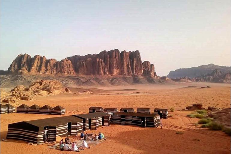 Rafting, Kayaking, Canoeing Cycling Cycle Jordan: Petra & Wadi Rum package
