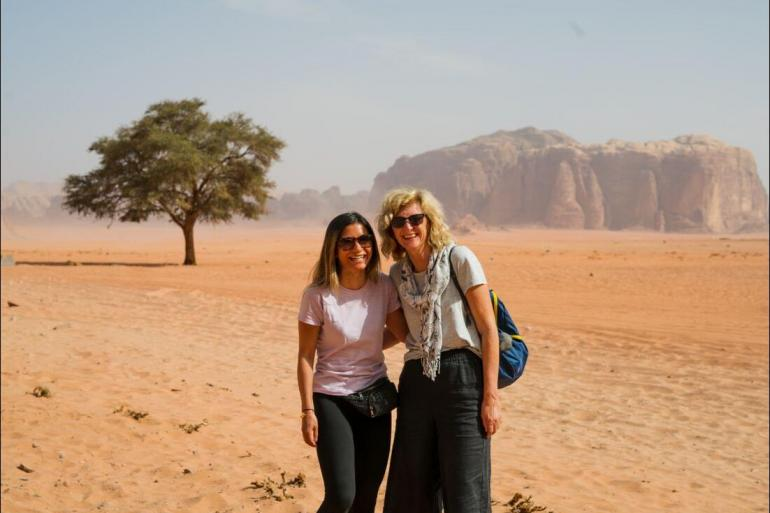 Hiking & Walking Cooking Jordan: Women's Expedition  package