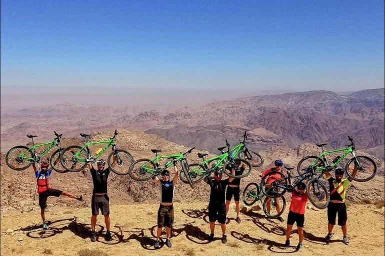 Cycling Culture Cycle Jordan: Petra & Wadi Rum package