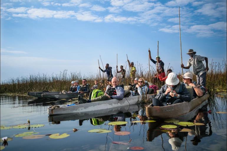 Etosha National Park Okavango Delta Cape Town to Vic Falls Trip