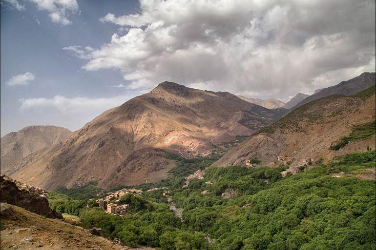 Hiking & Walking Cooking Mount Toubkal Trek package