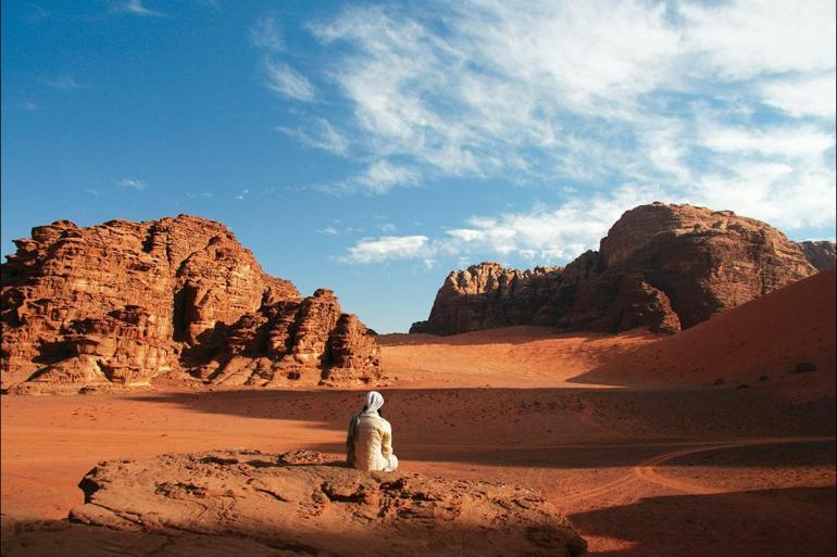Dana Biosphere reserve Dead Sea Cycle Jordan: Petra & Wadi Rum Trip
