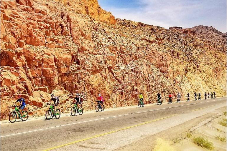Jerash Jordan Valley Cycle Jordan: Petra & Wadi Rum Trip