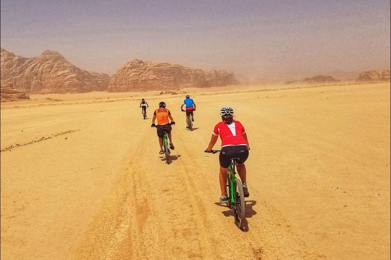 Petra Shobak Cycle Jordan: Petra & Wadi Rum Trip