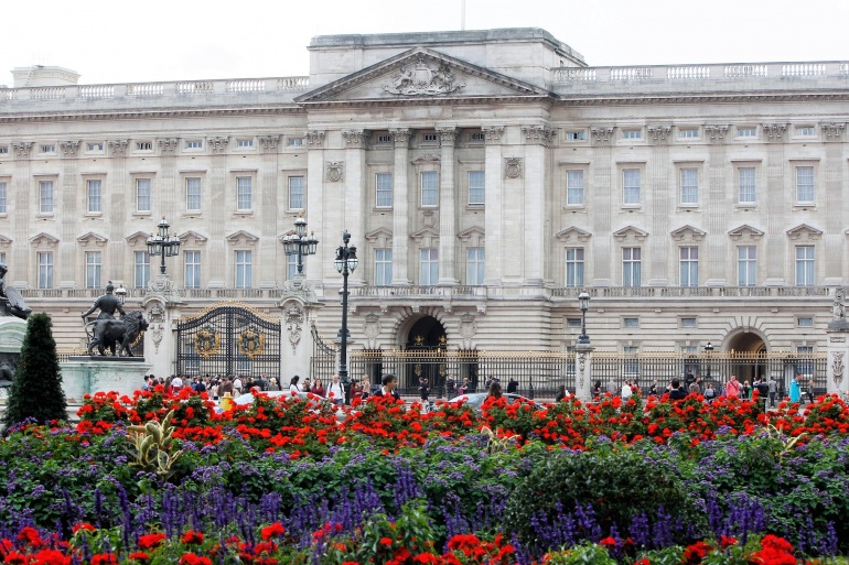 Backingham Palace London, England