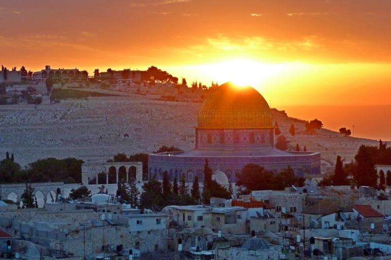 Panoramic Sunrise, Israel