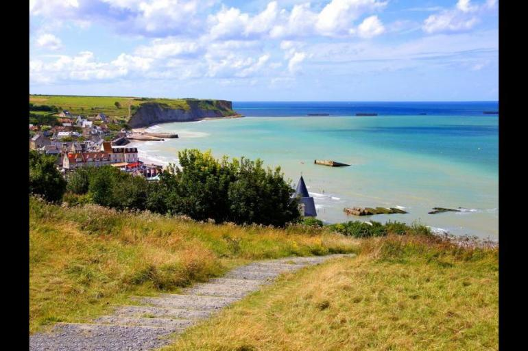 Self-guided Cycling in Normandy tour