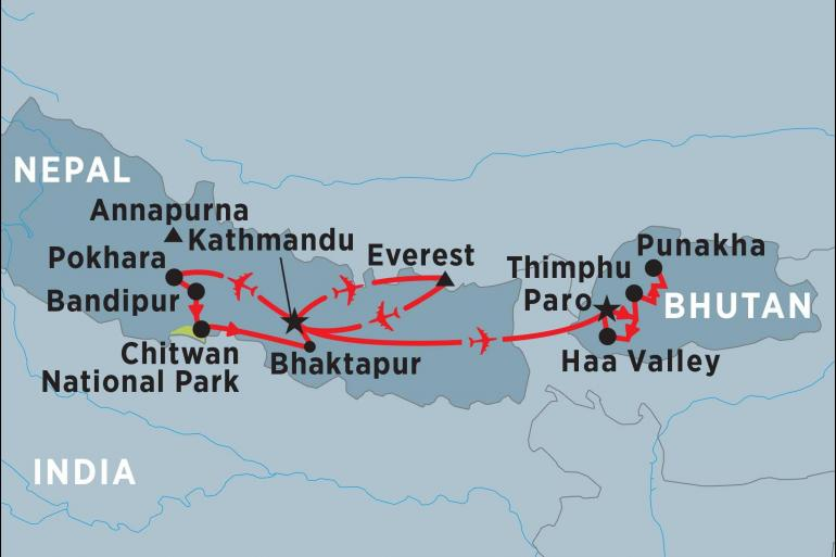 Kathmandu Mount Everest Essence of Nepal & Bhutan Trip