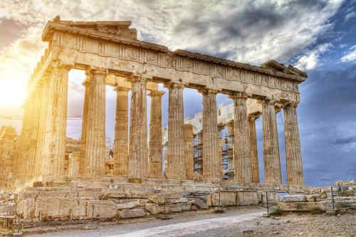 Greek Highlights: Athens, Mykonos and Santorini W/ High Speed Ferry tour