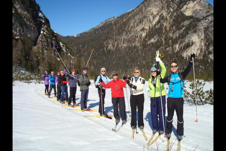 Cultural Adventure & Adrenaline Cross-country Skiing Dobbiaco package
