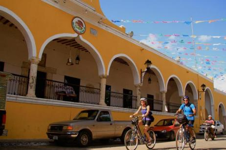 Cycling in Mexico tour