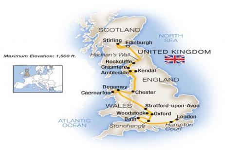 England, Scotland & Wales 2019 tour