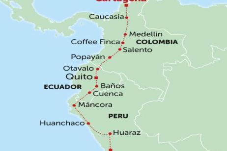 Road to Cartagena tour