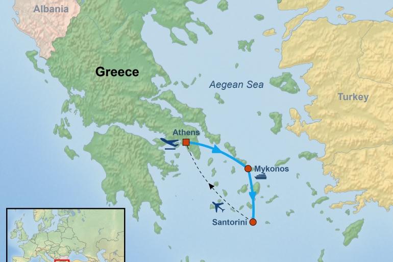 Athens Mykonos Island Hopping in Greece Trip
