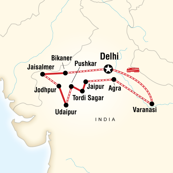 Agra Agra Fort Rajasthan and Varanasi on a Shoestring Trip