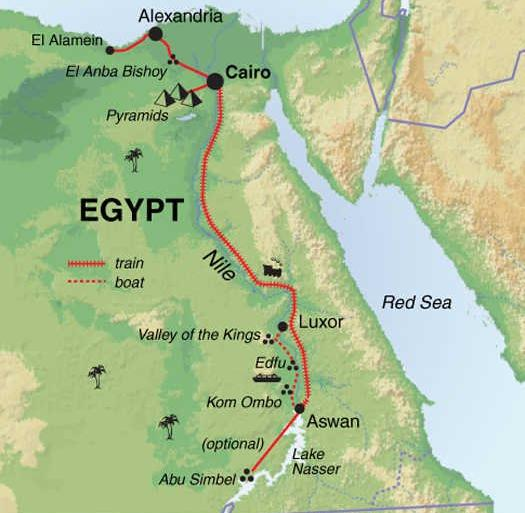 Cultural Culture Egypt: Alexandria to Aswan package