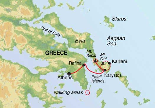 Cultural Culture Mountains & Villages of Evia package