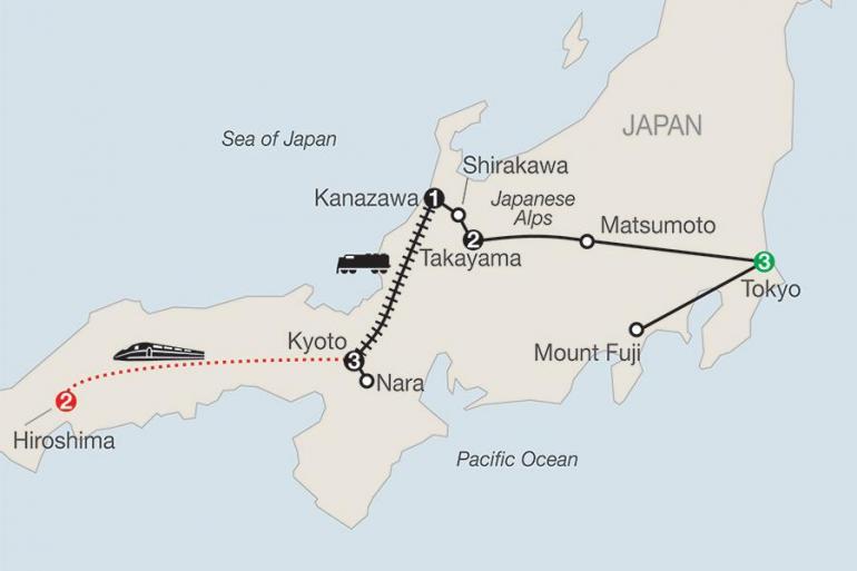 Hiroshima Kanazawa Discover Japan with Hiroshima Trip