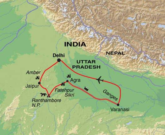 Fatehpur Sikri Jaipur Highlights of Northern India Trip