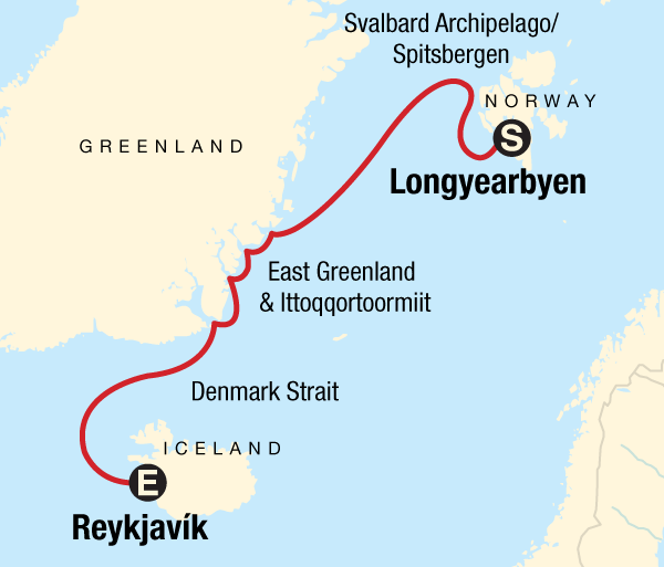 Oslo Reykjavík Arctic Highlights Trip