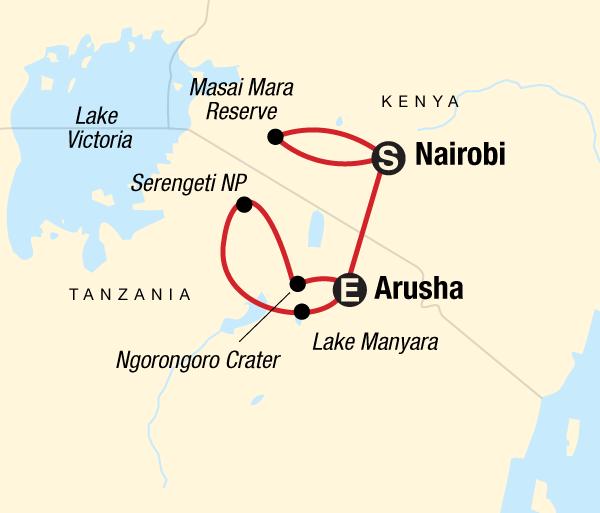 Arusha Lake Manyara National Park Masai & Tanzania Camping Safari Trip