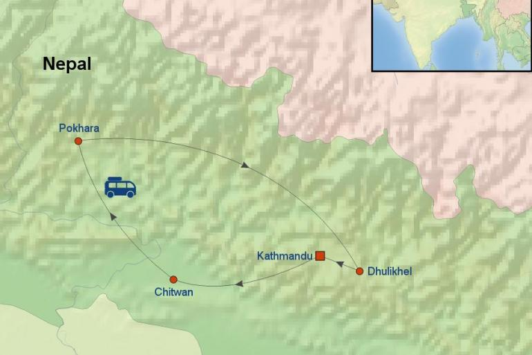 Chitwan National Park Kathmandu Best of Nepal Trip