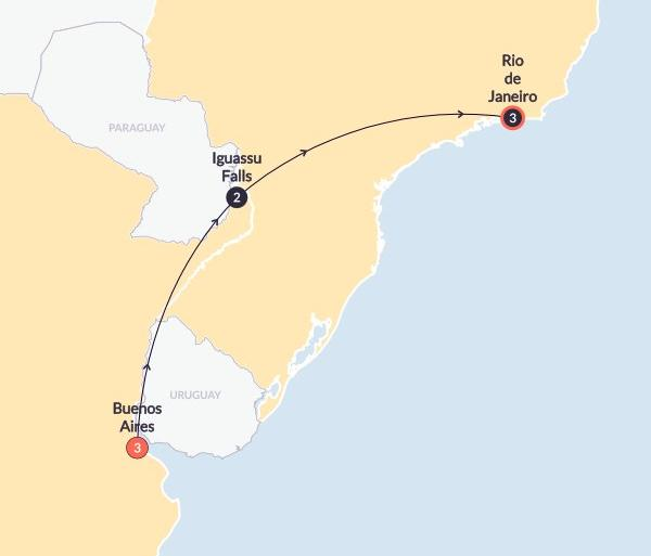 Buenos Aires Rio de Janeiro Argentina & Brazil Experience Trip