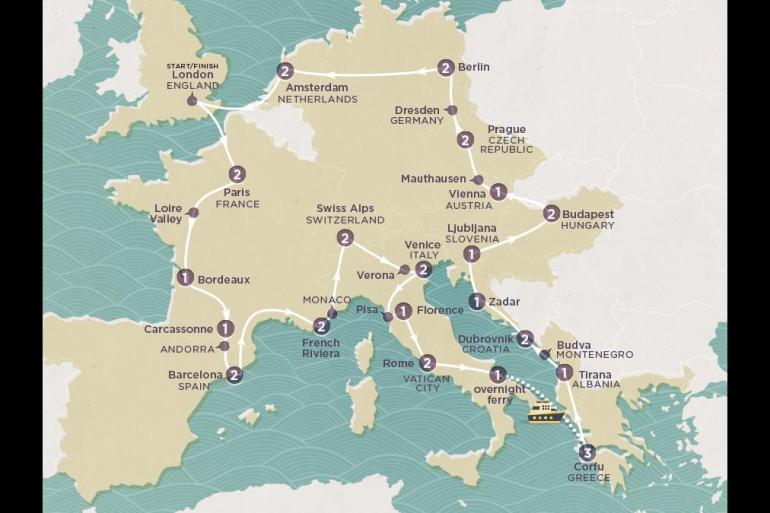 Amsterdam Barcelona Discover Europe Trip