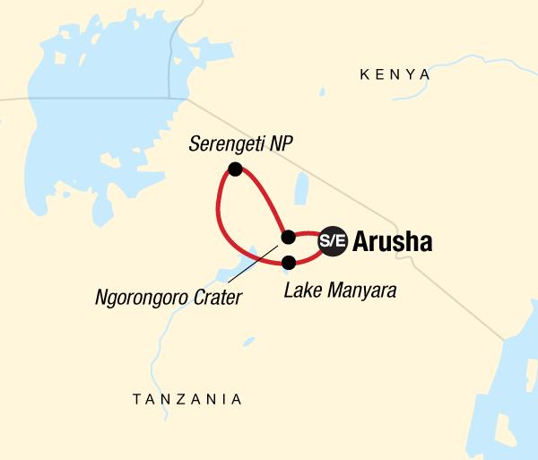 Arusha Lake Manyara National Park Tanzania Camping Adventure Trip