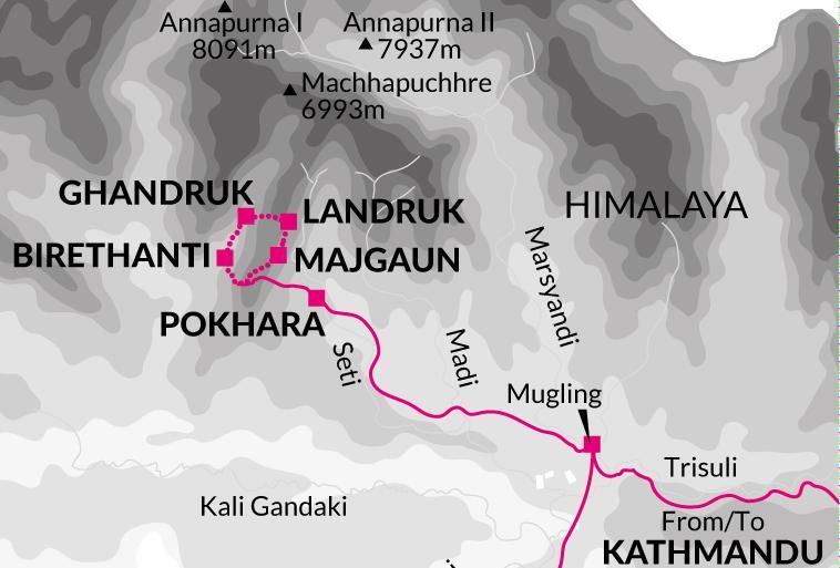 Pokhara Tibet Annapurna Luxury Lodge Trek Trip