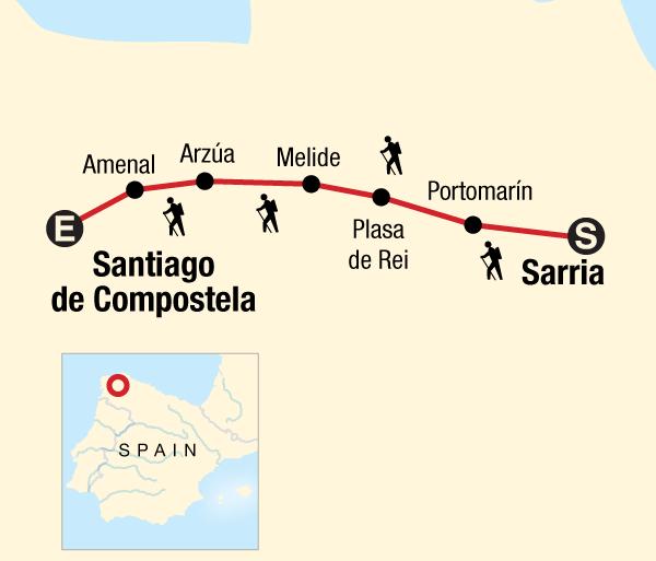 Camino de Santiago Porto Walk the Camino de Santiago Trip
