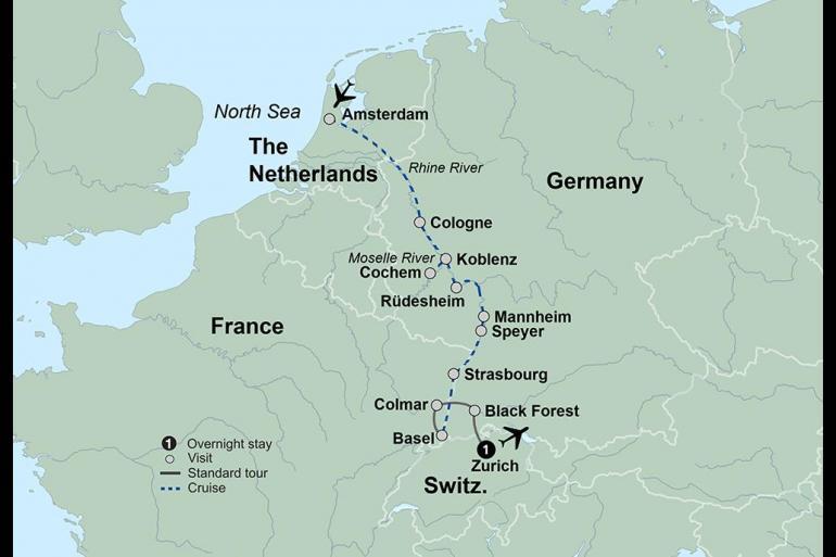 Koblenz Strasbourg Magical Rhine and Moselle  Trip