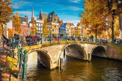 London & Amsterdam by Rail tour