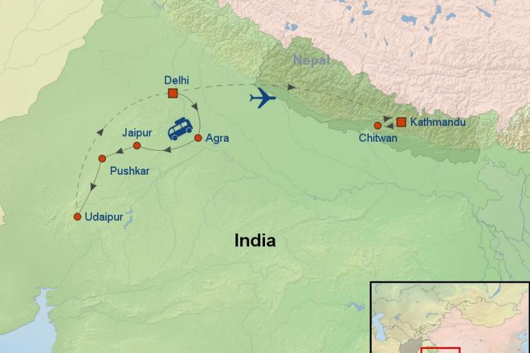 Agra Chitwan National Park Majestic India And Nepal Trip