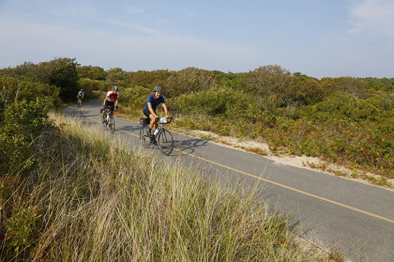 Cycling Fun at Cape Cod, United States