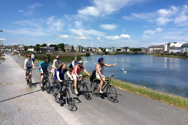 cycling tour Galway – Dublin