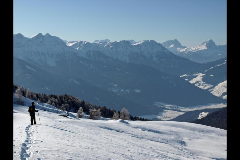 Cultural Adventure & Adrenaline Snowshoeing in the Dolomites package