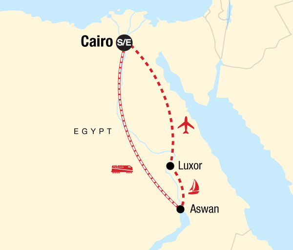 Aswan Cairo Best of Egypt Trip