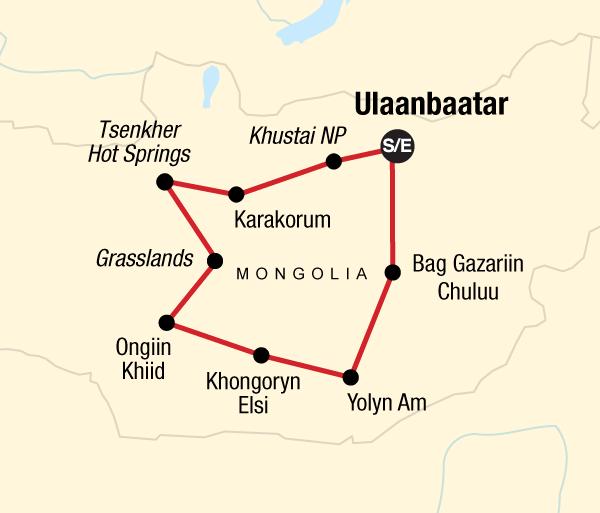 Gandan Monastery Gobi Desert Nomadic Mongolia Trip
