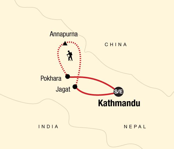 Kathmandu Pisa Annapurna Circuit Trek Trip