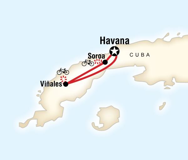 Caribbean Havana Biking Cuba Trip