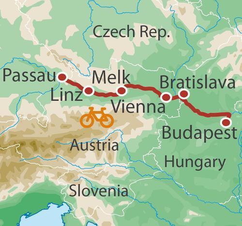 Linz Vienna Danube Cycle Trip
