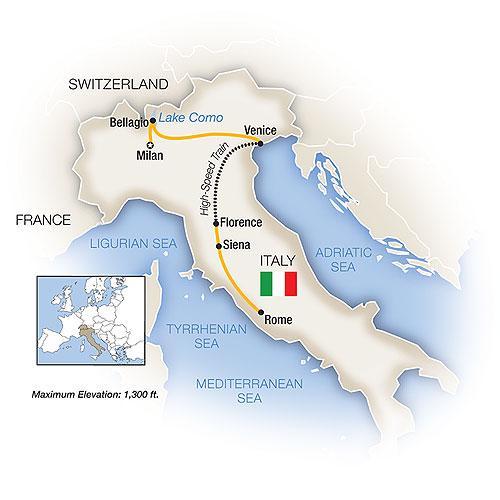 Italian Lakes, Venice, Florence & Rome 2018 tour