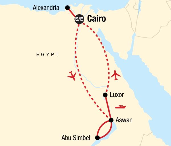Abu Simbel Alexandria Egypt Upgraded Trip