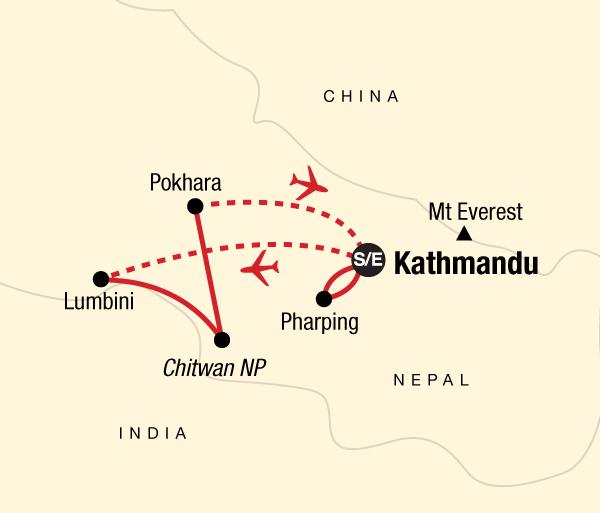 Chitwan National Park Kathmandu Wellness Nepal Trip