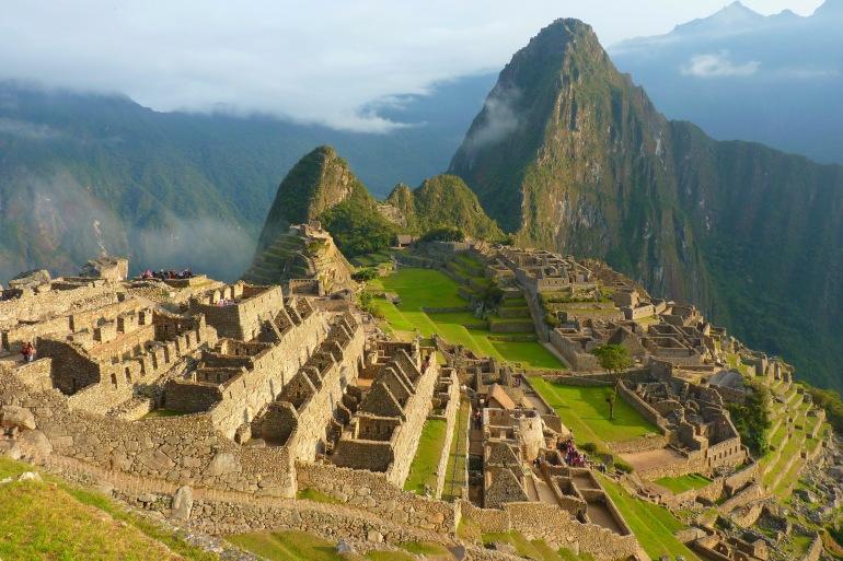 Beautiful Machu Picchu-Peru-43387-P
