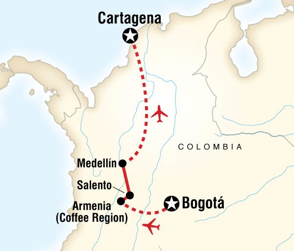 Caribbean Cartagena Colombia Express Trip