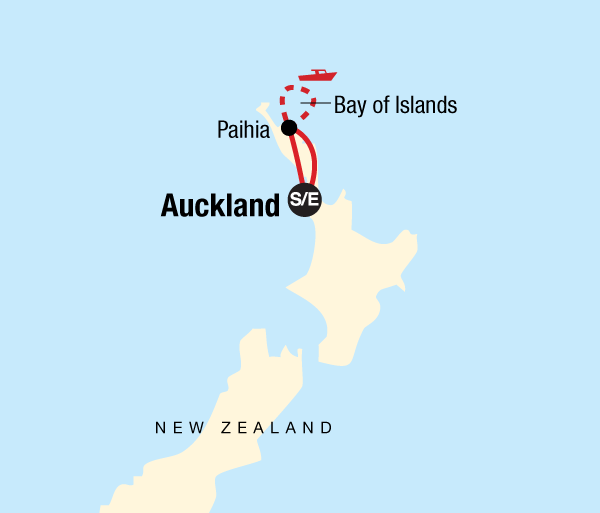 Cultural Adventure & Adrenaline New Zealand–The Bay of Islands package
