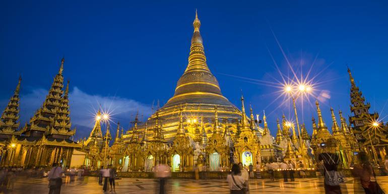 Myanmar on a Shoestring tour